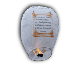 In Memory of Sky Lanterns